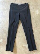 PRADA Black Poly Techno Pants with Ankle Zipper size 42 $800
