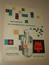 JOHANN MARIA FARINA COLOGNE=ANNI '50=PUBBLICITA'=ADVERTISING=WERBUNG=244=