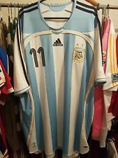ARGENTINA football shirt TEVEZ 11 2006 WORLD CUP XL Man Utd West Ham Juventus