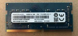 RAMAXEL 8 GB DDR4 PC4 2666V SO DIMM RAM Memory 2666 MHz Notebook 260 Pin