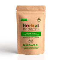 Herbal Traditions Shatavari Capsules  - Natural Supplement