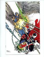 Spawn #298 (Cover B Mcfarlane Virgin), 2019 NM+, Spider-Man 298 Homage Cover!