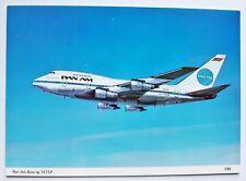 Pan Am Boeing 747SP Postcard