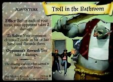 Harry Potter TCG TROLL IN THE BATHROOM 19/116 Adult Owned Near Mint HOLO