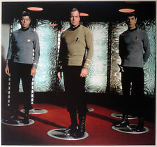 STAR TREK POSTER PAGE . KIRK BONES SPOCK - BEAM ME UP SCOTTY! . NOT DVD V4