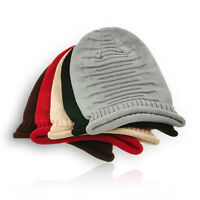 Womens Mens Unisex Couples Knit Baggy Beanie Hat Winter Warm Oversized Ski Cap