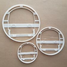 Tube Train Underground Shape Cookie Cutter Dough Biscuit Pastry Fondant Sharp