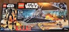 NEW LEGO LOT OF 2 STAR WARS SETS TIE STRIKER SPACE SHIP 75154 & K-2SO 75120