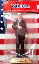 """VINTAGE MARX~Taiwan Woodrow WILSON, US Pres #28 painted figure 2.75"""",1960's MIB"""