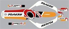 Oset 16 Kit de Gráfico Repsol 2011-2014 Modelos Gratis Reino Unido del envío