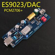 NEW PCM2706 + ES9023 fever level audio DAC sound card / decoder