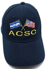 U.S. AIR FORCE AIR COMMAND STAFF COLLEGE ACSC / MAXWELL AFB adjustable cap / hat