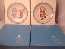 "1978 Schmid Christmas Plate ""Heavenly Trio"" & 1979 ""Starlight Angel"" Hummel"