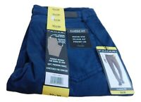 NWT Men's Tahari Classic Fit Straight Leg Relaxed Hip Stretch Chino Pants
