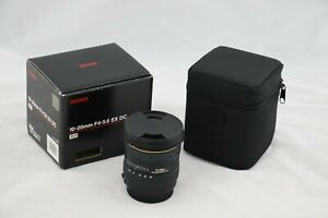 Sigma DC 10-20mm f/4.0-5.6 HSM EX DC Lens For Canon