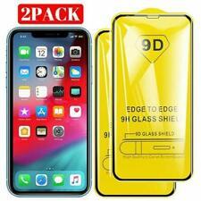 2 STÜCK für  iPhone X / Xs  9D 9H Panzer Glas  Schutz Folie / tempé le verre