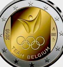 More details for belgium 🇧🇪 coincard 2€ euro 2016 commemorative rio olympics new bunc blister