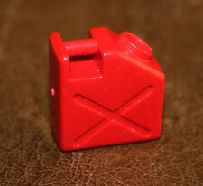 Playmobil accessoire vintage jerrican rouge 3434 3437 3520 3464 3458 ref dd