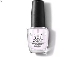 O.P.I nail Lacquer TOP COAT Full Size 15ml Bottle
