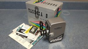 vintage yashica 8, 8mm video camera in box