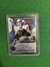 Harrison Smith Mettle Moments on card autograph 25/25 elements card.