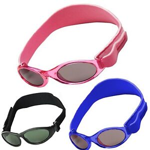 Baby Sunglasses Kids/Toddler Boy Girls Safe 100% Sun Protection Age 2-4 Years