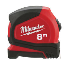 Milwaukee 8 metros pro-compact Cinta métrica con 25mm Ancho BAND no magnético