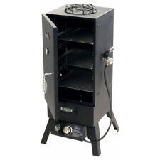Gas Smoker Grill LP Propane Vertical Outdoor BBQ Wood Chips Barbecue 578 Sq In