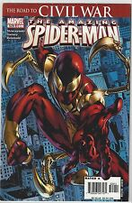 AMAZING SPIDER-MAN #529 KEY 1st Appearance IRON SPIDEY NM (9.4)