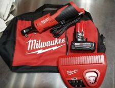 "Milwaukee M12 Lithium 3/8"" 4.0AH Ratchet Kit 2457-21 XC -FREE Priority with BAG"