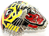Buckle Rock Punk Belt Buckles Yellow Red Tiger Leopard
