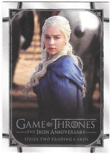 Rittenhouse Game of Thrones Iron Anniversary Series 2 Promo Card P1 Philly Show