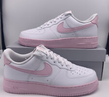 Nike Air Force 1 Low AF1 '07 CK7663-100 White Pink 2020 Mens Size