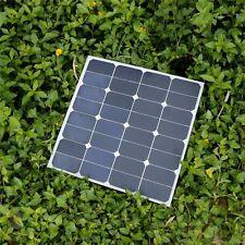 Elfeland 50W 18V 535x535cm Photovoltaic Monocrystalline Solar Panel Aluminu