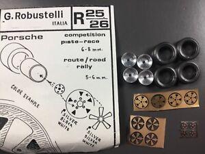 1//43 Zubehör Räder Porsche Prototypen 70er Jahre 917//908