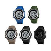 SKMEI Sport Men 50M Waterproof Chronograph Countdown Digital Watch Wrist Watches