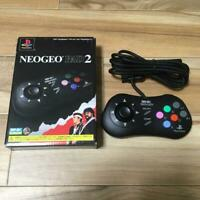 SNK NeoGeo Pad 2 PS2 Controller Working From japan super