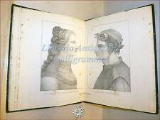 M.Missirini, AMORE DI DANTE ALIGHIERI RITRATTO BEATRICE PORTINARI + MEMORIE 1832