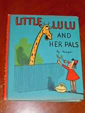 Little Lulu and Her Pals by Marge (DAVID MCKAY 1939) FINE cond.HC w dust jacket