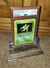 SCYTH-SATIONAL 2000 Pokemon Base 2 Scyther HOLO Card #17 PSA GRADED NM - MINT 8!
