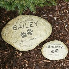 Personalized Pet Memorial Stone & Heart Shape