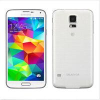 """Débloqué Téléphone Samsung Galaxy S5 4G LTE SM-G900A 16GB 5.1"""" 2GB RAM - Blanc"""