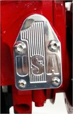Small block Chevy fuel pump block off plate