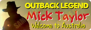 Mick Taylor Bumper Stickers