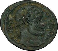 Constantine The Great Antioch mint Ancient Roman Coin Military camp gate i45868