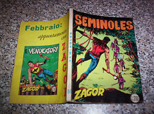 ZAGOR ZENITH N.94 ORIGINALE DEL 1969 MB/OTT NO TEX MARK ARALDO RANGER FORD DOG