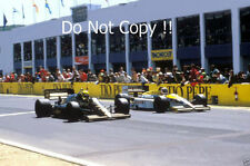 Ayrton Senna JPS Lotus 98T Winner Spanish Grand Prix 1986 Photograph 3