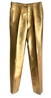 YVES SAINT LAURENT RIVE GAUCHE YSL PANTS Gold. Must have! Size 50