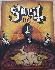 GHOST B.C.   //  ?   __ 1 Poster /  Plakat  __ 43,5 cm x 59 cm