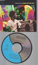 CD--RUBY TURNER --- LIVING FOR THE CITY